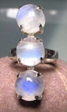 Handmade Natural Moonstone Fine Rings