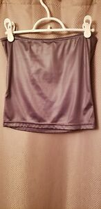 Women's Tube Top Grey Silver Small