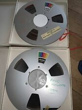 More details for 10,5 inch ampex 406 metal reel tape x2