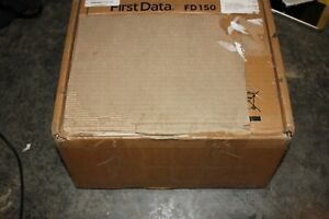 First Data FD150 Credit Card Terminal w/Box