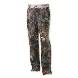 NWT Womens Browning Hell's Belles Soft Shell Pant Mossy Oak Break-Up Country XL