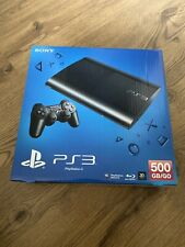 Sony PlayStation PS3 Ultra Slim CECH-4004C 500GB Charcoal Black Console