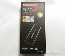 Creative Sound Blaster SB-PLAY3 USB Audio Interface DAC Amplifier 24bit/96kHz JP