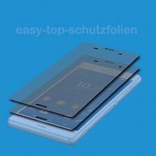 2x Anti Shock Premium Panzerfolie für Sony Xperia J1 Compact  - Brilliant Klar