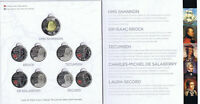 Canada War Of 1812 Coins Set  In Royal Canadian Mint Album.