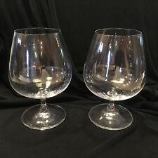 """2 Riedel Vinum Brandy Cognac Glasses Snifters 6""""t"""