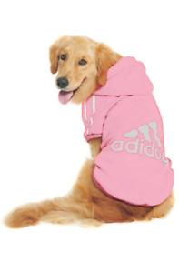 2/4 Leg Adidog Dog Casual Warm Hoodie Jumpsuit Pet Puppy Coat Sweatshirt Clothes
