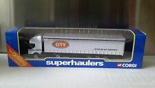 CORGI SUPERHAULERS  TY86903  RENAULT BOX TRAILER - CITY TRUCK GROUP