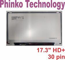 """17.3"""" HD+ (1600x900) EDP LCD LED Screen B173RTN02.0  NT173WDM-N21 30 Pin Matte"""