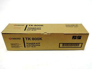 Genuine original & brand new Kyocera TK-800K Black Toner Cartridge FS-C8008NP
