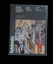 AUSTIN MORRIS 2200 1972-73 AUTOBOOK