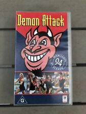 AFL VHS - Demon Attack. Melbourne Demons Season Highlights 1994