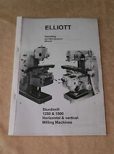 Elliott Sturdimill 1250 & 1500 Mill Manual