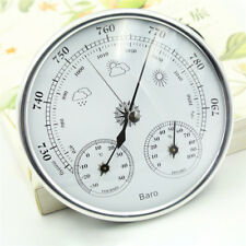 3 IN 1 Wall Hanging Weather Station Barometer Thermometer Hygrometer 970~1040hPa