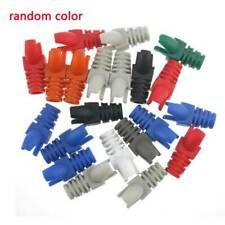 10Pcs Network RJ45 Cable Ends Plug Connector Cover Boots Caps Safety Useful G