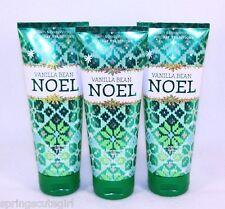 3 Bath & Body Works Vanilla Bean Noel 24hr Ultra Shea Body Cream / Lotion