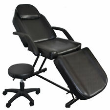 Salon SPA Black Massage Bed Tattoo Chair Facial Adjustable Table Acupuncture NEW