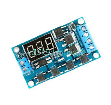 12V 24V Trigger Cycle Timer Delay Switch Circuit Board MOS Tube Control Module A