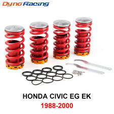 Front Rear Suspension Coilover Lowering Spring Sleeve Kit for 88-00 Honda Civic