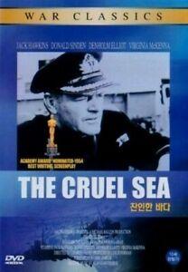 The Cruel Sea (1953) Jack Hawkins [DVD] FAST SHIPPING