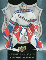 2019-20 UD Artifacts Rookie Tribute Henrik Lundqvist #1/15  Low Numbered #!