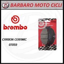 1 CP PASTIGLIE FRENO POSTERIORE BREMBO CARBON CERAMIC YAMAHA T-MAX TMAX 500 2005