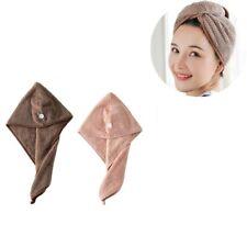 Microfiber Bath Towel Hair Dry Hat Cap Quick Drying Lady Bath Tool PK