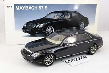 AUTOart 1:18 scale Maybach 57 S 2005 (W240) - Black (Daimler Mercedes-Benz)
