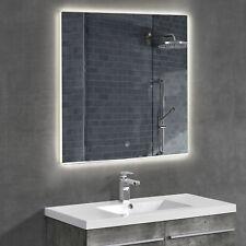 [neu.haus]® LED Badezimmerspiegel Wandspiegel Licht Spiegel Beleuchtet 60 x 60cm