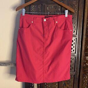 Karen Kane womans fushia pink stretch pencil skirt large