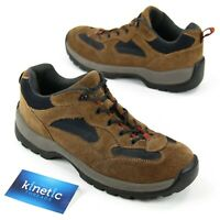 Lands End Mens Sz 10M Brown Suede Leather Trail Hiking Shoes Boots 73779 Outdoor