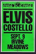 Elvis Costello Original Vintage Boxing Style Concert Poster 1989 Paul McCartney