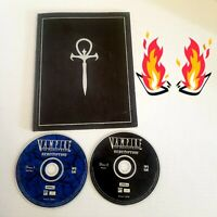 🔥 Vampire The Masquerade Redemption PC - Multiplayer 2 discs with player guide