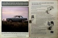 Mercedes-Benz 250S and Fuel Injection 250SE / Sunbeam 777 Shaver Vintage Ad 1966