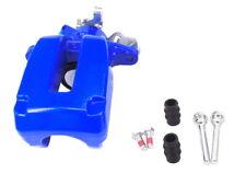 REAR BRAKE CALIPER LH + SLIDER COATED BLUE AUDI A3 TT QUATTRO GOLF R32