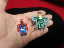 Lego Marvel spiderman and Doc Octopus super heroes minifigures lot