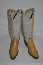 Dan Post womens 6 1/2M pointy toes brown Leather Western Cowboy Boots Nice