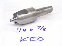 """NEW SURPLUS KEO HSS CENTER DRILL WITH CHAMFER CUT 1/4"""" x 7/8"""""""
