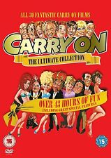 Carry On DVD Box Set Discs Films The Complete Ultimate Collection Series SEALED