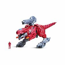 T-Rex battle Zord With Red Ranger - Power Rangers Movie (2016)