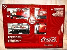 LGB #72428 Coca-Cola Starter Train set with track and power pack-RTR-ln w box!--