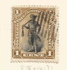 NORTH BORNEO; 1894 1 CENT USED SG 66