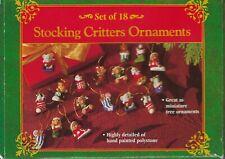 Set of 18 Miniature Ornaments