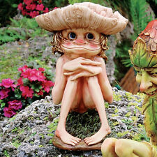 Garden Troll Gnome Statue Statuary Lawn Yard Art Ornament Home Decor Sculpture