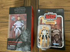 Hasbro Star Wars The Black Series Vintage Collection Lot, Clone Commander Wolffe