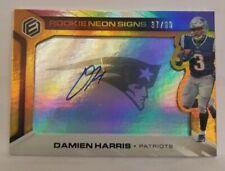2019 Panini Elements Damien Harris (Patriots) Rookie Autograph Card #'d/99