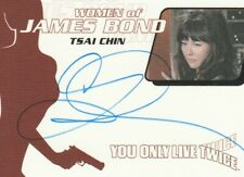 007 James Bond Heroes and Villains Tsai Chin Autograph WA35 Ling