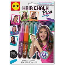 Hair Chalk Pens Washable Assorted Children's Arts & Crafts by Alex 238W
