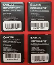 LOT OF 4 NEW ORIGINAL KYOCERA BATTERY SCP-54LBPS FOR HYDRO EDGE ETC.