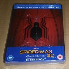 Spiderman Homecoming (3D + 2D Blu-ray) UK Limited Edition Steelbook - Marvel
